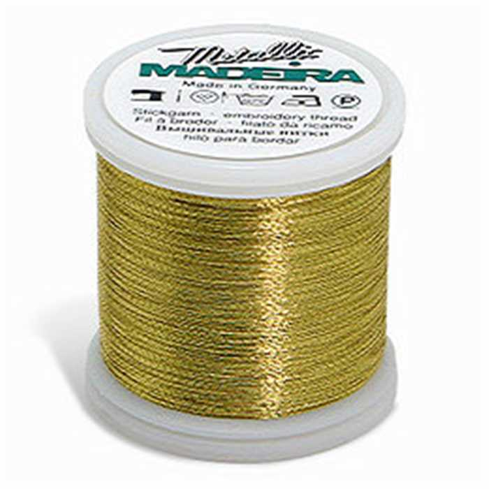 Fil à broder Metallic Gold 004 Bright