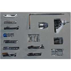 Kit set 14 pieds+1 guide 7mm