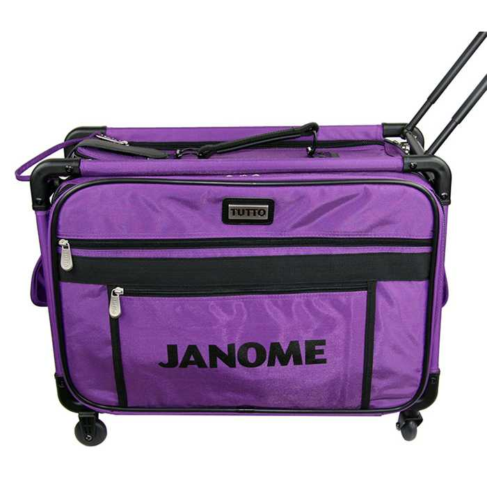Valise à roulette Trolley small pourpre