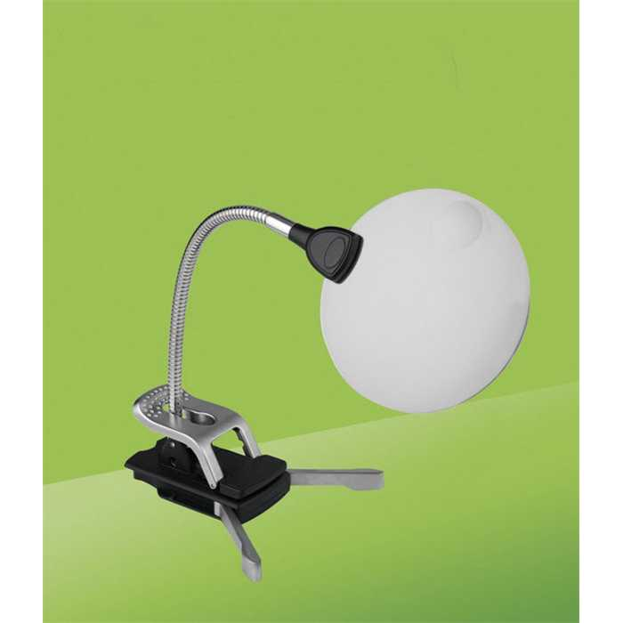 Lampe LED Flexilens noir