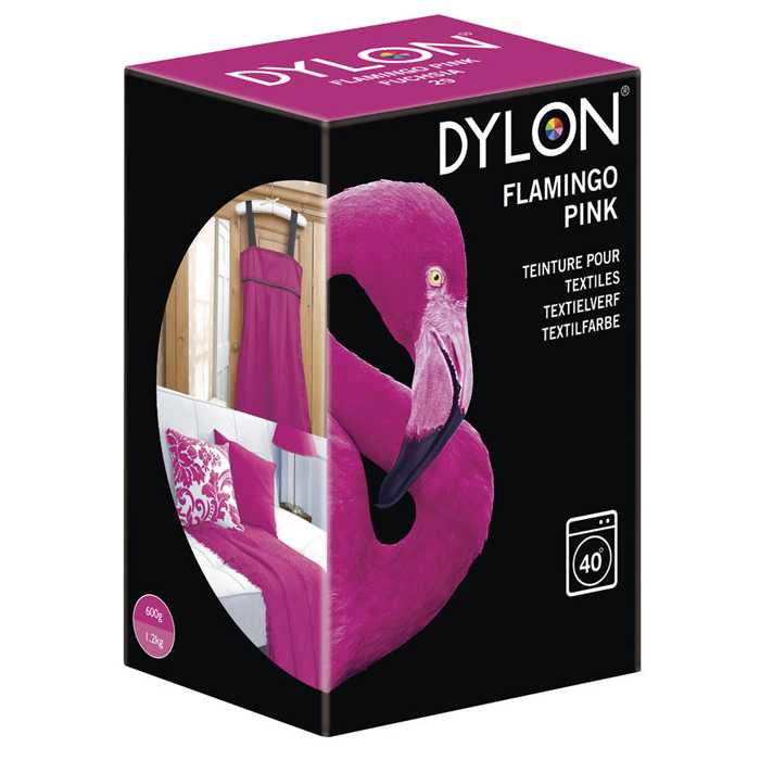 Teinture machine Dylon - Fuchsia