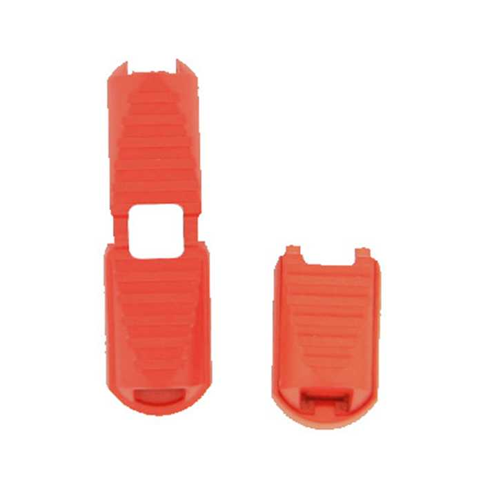Embout de cordon rouge 20mm