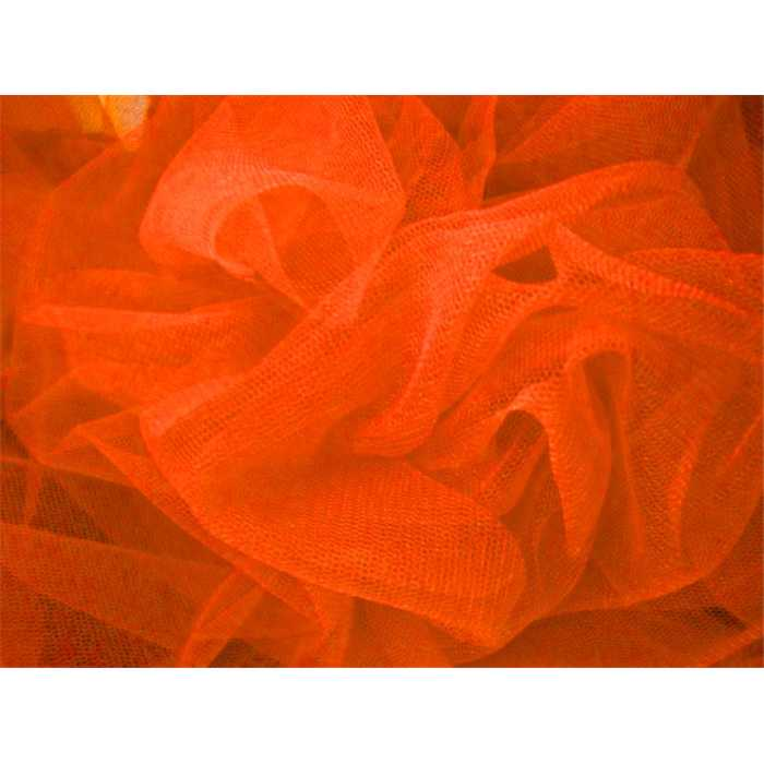 Tulle 137cm Orange /m