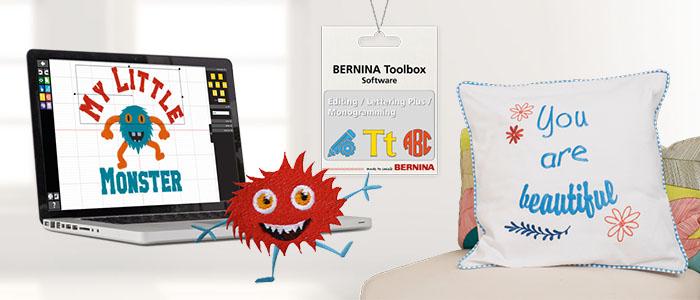 Présentation du logiciel de broderie Bernina Toolbox
