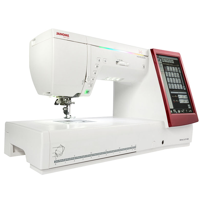 Janome memory craft 14000 janome ets stecker bertrix for Machine a coudre 50 euros