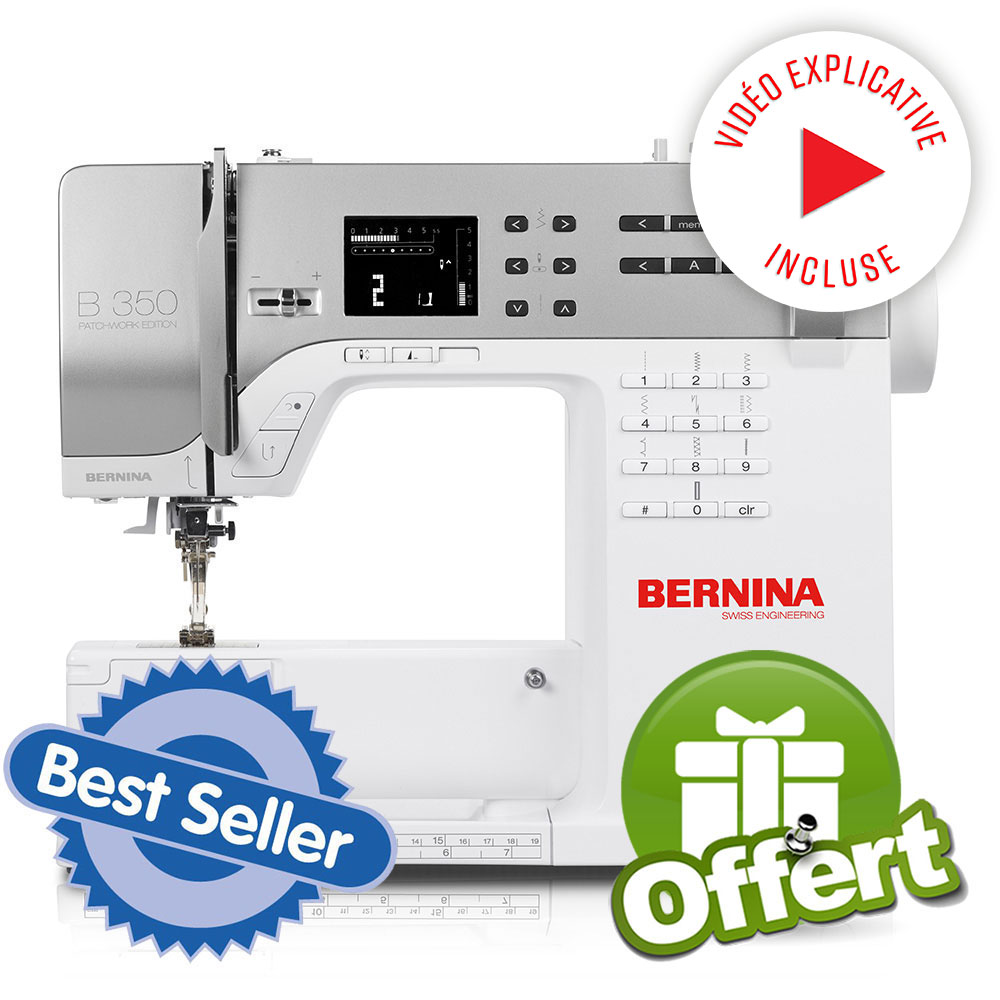 Bernina s rie 3 350pe bernina ets stecker bertrix for Machine a coudre 50 euros