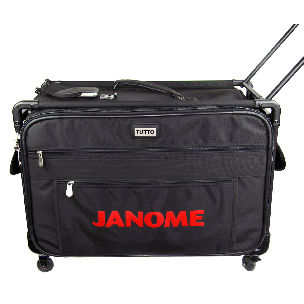 valise roulette trolley small noire janome ets stecker bertrix. Black Bedroom Furniture Sets. Home Design Ideas