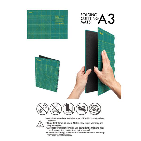 tapis de coupe pliable 30x43cm olfa ets stecker bertrix. Black Bedroom Furniture Sets. Home Design Ideas
